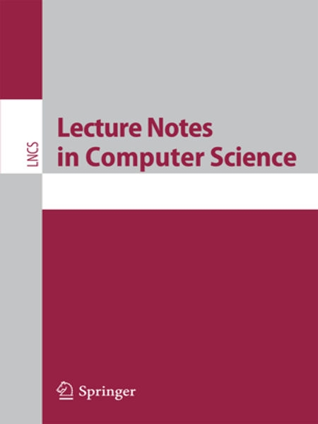 Lecture notes in computer science (Springer)