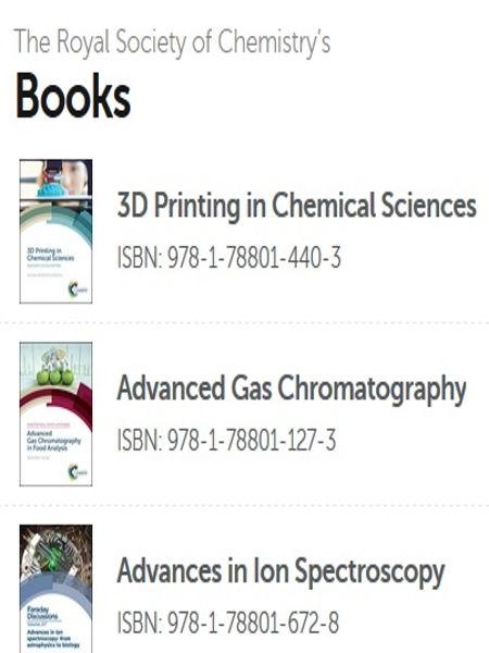RSC ebook collection