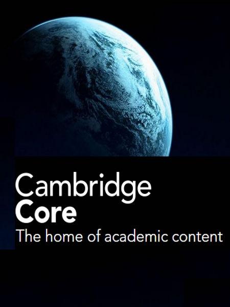 Cambridge Core (Cambridge University Press)