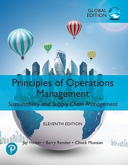 Principles of operations management : sustainability and supply chain management / Jay Heizer (Jesse H. Jones Professor of Business Administration, Texas Lutheran University), Barry Render (Chales Harwood Professor of Operations Management, Graduate School of Business, Rollins College), Chuck Munson (Professor of Operations Management, Carson College of Business, Washington State University)