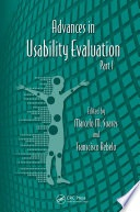 Advances in usability evaluation / edited by Marcelo M. Soares and Francisco Rebel