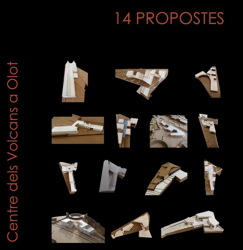 14 propostes : Centre de Volcans a Olot / direcció i edició: Joan Curós i Vilà