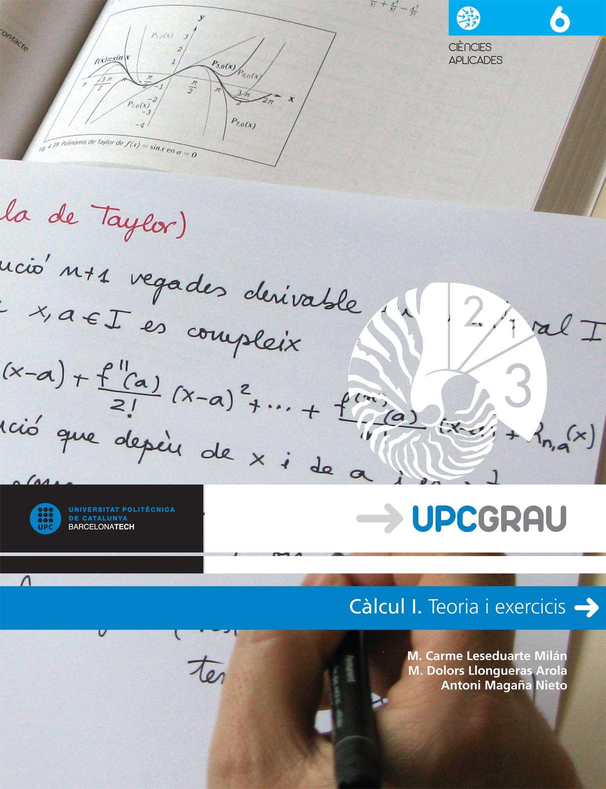 Càlcul I : teoria i exercicis