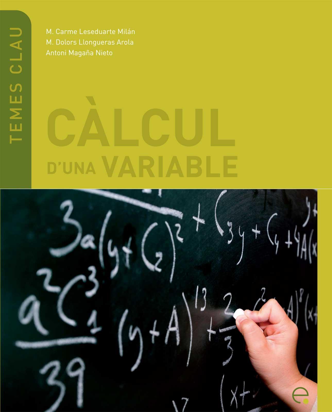Càlcul d'una variable