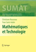 Mathématiques et Technologie [Recurs electrònic] / by Christiane Rousseau, Yvan Saint-Aubin