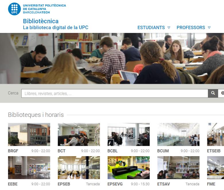 Bibliotècnica, ara més visual, útil i interactiva