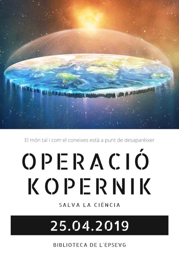 Operació Kopernik a Vilanova: salva la ciència