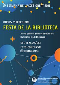 Festa de la biblioteca a Vilanova