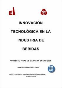Innovación tecnológica en la industria de bebidas